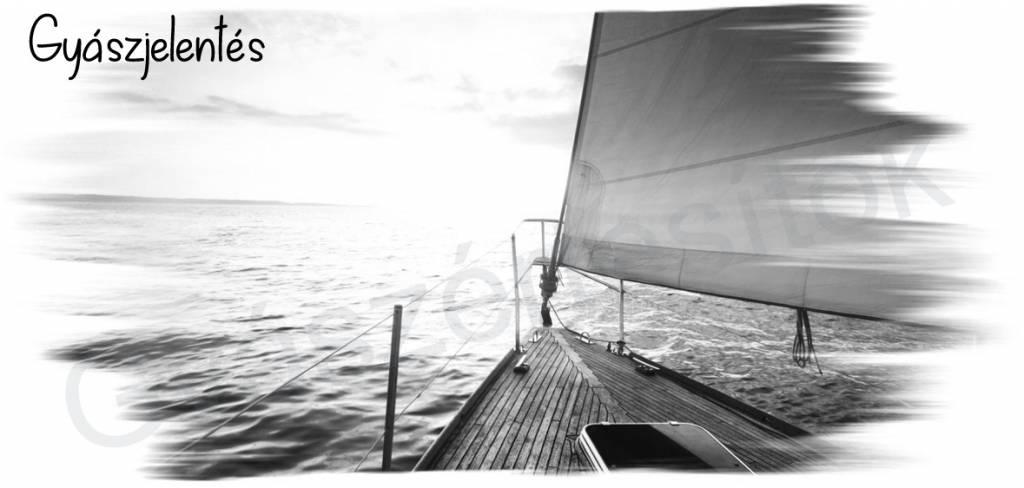 Hajós gyászjelentés fekvő 09