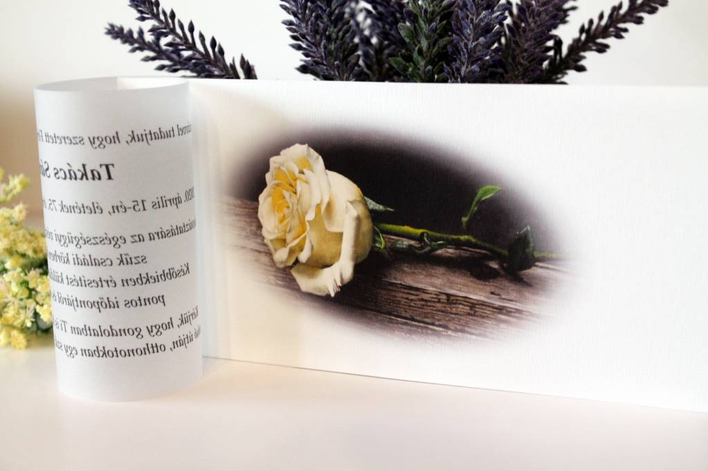 Pauszrátétes gyászjelentés 05